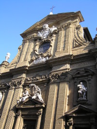 Church of San                 Gaetano in Florence Italy