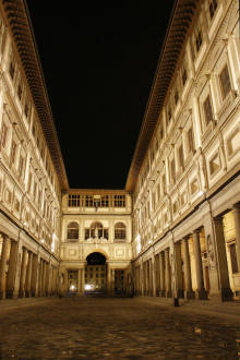 The Uffizi Courtyard